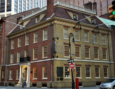 Fraunces Tavern.