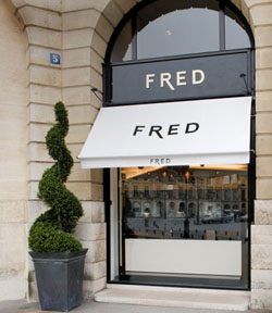 Boutique Fred Vendôme, 7 place Vendôme, 75001 Paris, France.