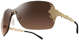 Fred Pearls women's sunglasses: €4100.