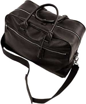 Frette Weekend Leather Bag.
