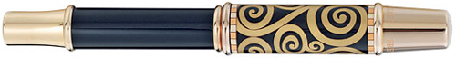 FreyWille fountain pen, inspired by Gustav Klimt.