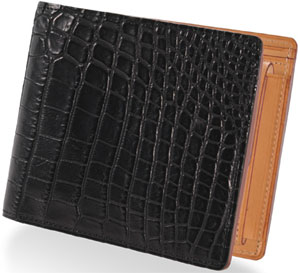 Ganzo Crocodile Leather Wallet.