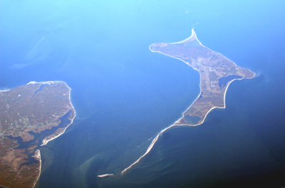 Gardiners Island, Gardiners Bay, East Hampton, New York, U.S.A.
