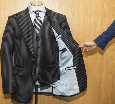 Garrison Bespoke: the bulletproof three-piece suit.