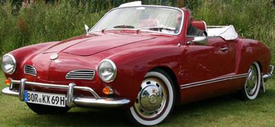 Volkswagen Karmann Ghia Cabriolet (1955-1974).