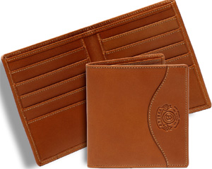 Ghurka International Wallet Chestnut Leather: US$225.