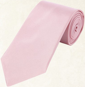 Gieves & Hawkes Pink Satin Woven Tie: £85.