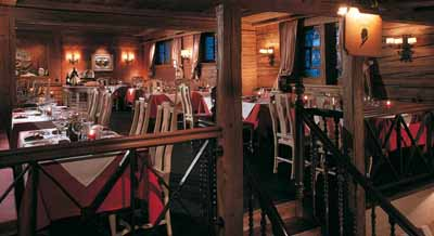 Gildo's Ristorante at the Gstaad Palace hotel.