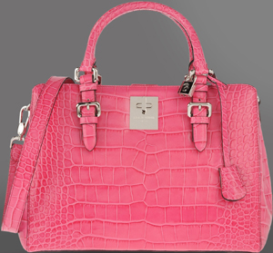 Giorgio Armani Medium Bag in Printed Calfskin: US$2,235.