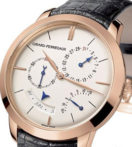 Girard-Perregaux 1966 Annual Calendar and Equation of Time.