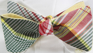 Gitman Bros. Reversible To-Be-Tied Butterfly Bow - Multi Color: US$59.