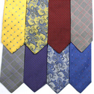 Gitman Bros. Dress Jacquard Neckties.