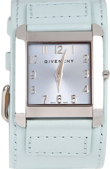 Givenchy Leather Strap Logo Watch: €500.