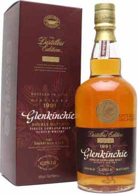 Glenkinchie 1991 Distillers Edition.