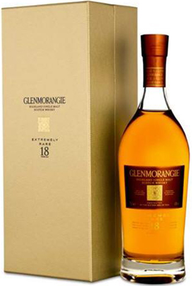 Glenmorangie Extremely Rare 18 Year Old Highland Single Malt (750ml).