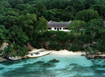The late Ian Fleming's estate Goldeneye in Oracabessa, St. Mary, Jamaica.