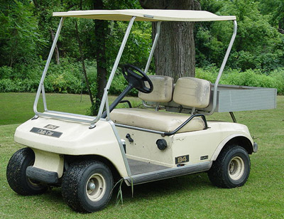 A common golf cart.
