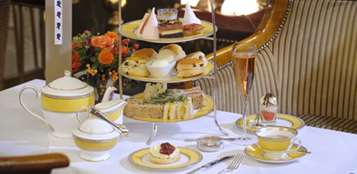 Afternoon Tea at The Goring Hotel, Beeston Place, London SW1W 0JW, England, U.K.
