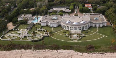 Abraham Gosman Estate, South Ocean Shore Drive, Palm Beach, Florida, U.S.A.