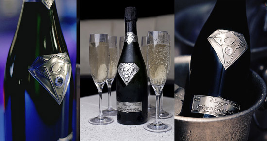 Goût de Diamants - the world's most expensive champagne.