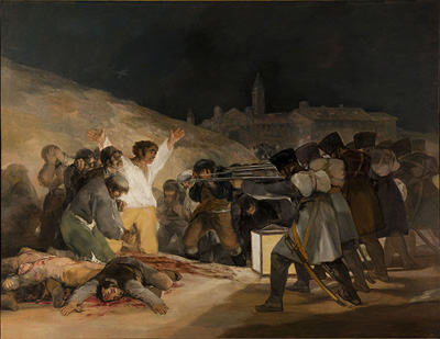 The Third of May 1808 (1814) by Francisco Goya.