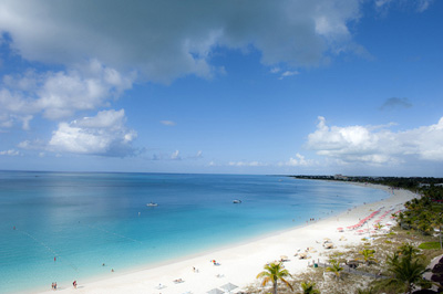 Grace Bay, Providenciales, Turks and Caicos Islands.