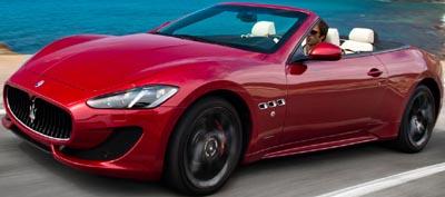 Maserati GranCabrio Sport.