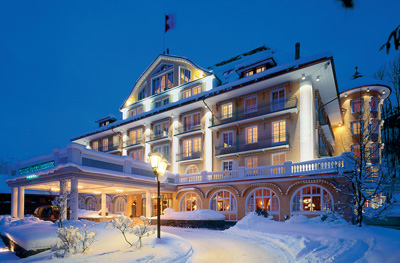 Le Grand Bellevue, Hauptstrasse, CH-3780 Gstaad.