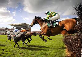 Grand National at Aintree Racourse.