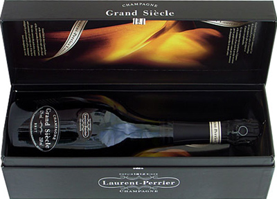 Champagne Laurent-Perrier Grand Siècle.