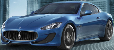 Maserati GranTurismo Sport.
