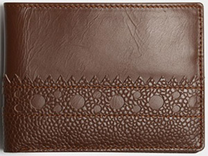 Grenson Wallet Brown: US$205.