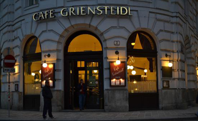 Café Griensteidl, Michaelerplatz 2.