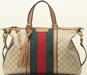 Gucci Rania Top Handle Original GG Canvas Hangbag: US$1,690.