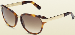 Gucci Blonde Havanna women's sunglasses: US$345.