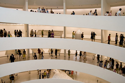 Solomon R. Guggenheim Museum, Solomon R. Guggenheim Museum, 1071 Fifth Avenue (at 89th Street) New York City, NY 10128.