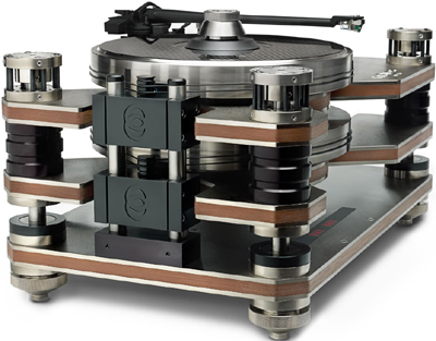 Hammacher Schlemmer turntable.