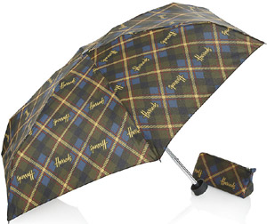 Harrods Tartan Umbrella In A Bag: £19.95.