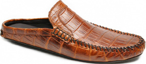 Harrys of London Mews Moc 2 Alligator Honey Slippers: US$3,911.60.