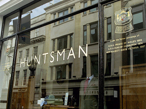 Huntsman, 11 Savile Row.