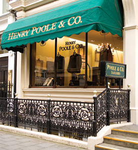 Henry Poole & Co., 15 Savile Row