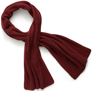 Hermès Grand Froid Extra thick cashmere knit men's scarf: US$1,025.