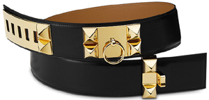 Hermès Collier de Chien Women's Belt: US$2,325.