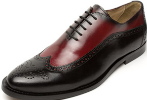 Heyraud Richelieu Bicolore Shoe: €199.