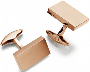 Hirsh Brique Cufflinks: £1,995.
