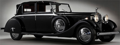 1935 Hispano-Suiza J12 Cabriolet deVille.