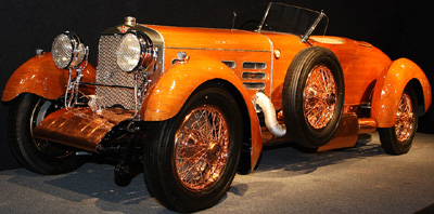 Hispano-Suiza 1924 H6C Dubonnet Boulogne Targa Florio speedster.