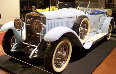 Hispano-Suiza 1924 H6B Million-Guiet Dual-Cowl Phaeton.