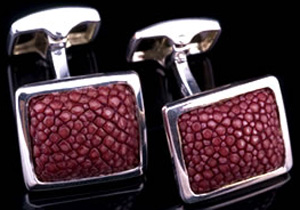 Hobbs & Kent Bordeaux Cufflinks.