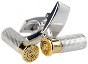 Holland & Holland Cartridge Cufflinks: £295.